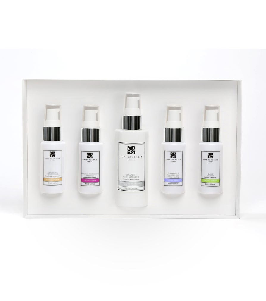 Apothecary Set (Moisturiser with the four serums)