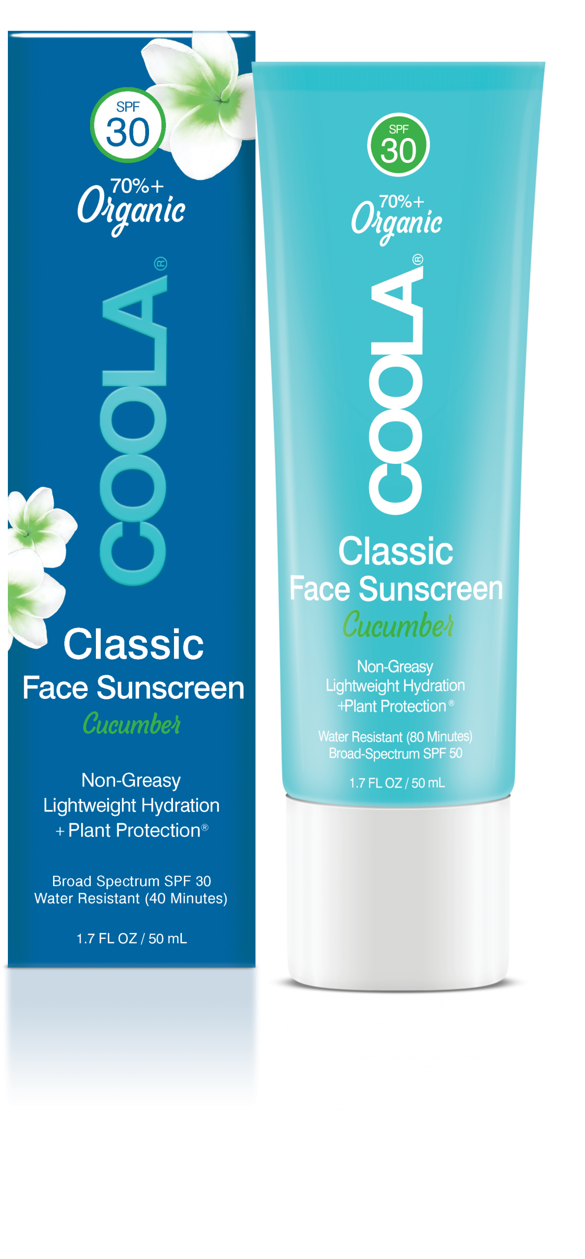 CLASSIC FACE ORGANIC SUNSCREEN LOTION SPF 30 – CUCUMBER
